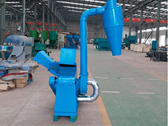 Wood Crusher in Biomass Pellet Plant