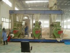 pellet plant with capacity 5-6T/H